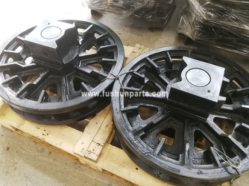 Undercarriage Parts Front Idler Assy For Excavator