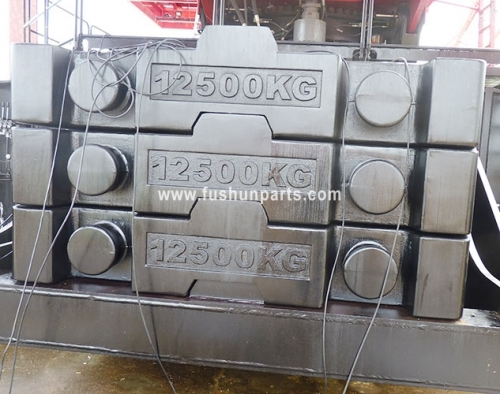 OEM Gray Lron Counterweights For FUWA, SANY, ZOOMLION XCMG Crane