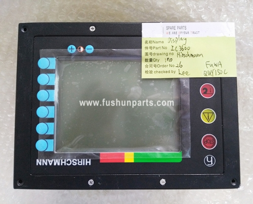 Crane Load Display Safe Moment Indicator IC3600 For FUWA QUY150C Crane