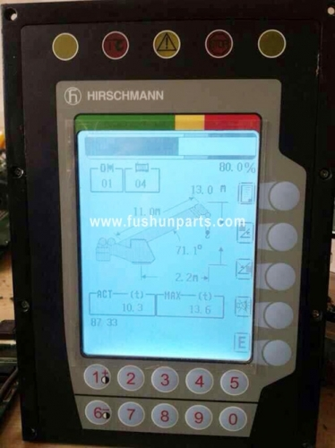 XCMG Crane Load Display Safe Moment Indicator For QAY25